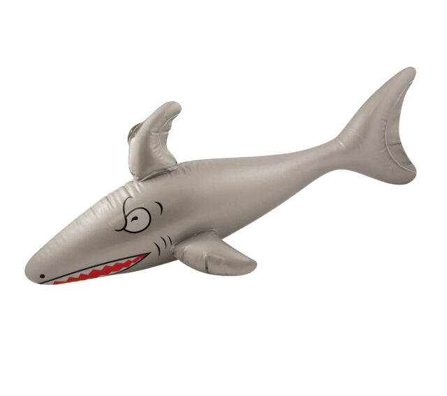 Inflatable Shark - 90cm - Beach Pool Swimming Toy Childrens Party Prop Photo