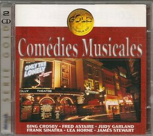 2-CD-COMPIL-30-TITRES-COMEDIES-MUSICALES-CROSBY-ASTAIRE-GARLAND-SINATRA-HORNE