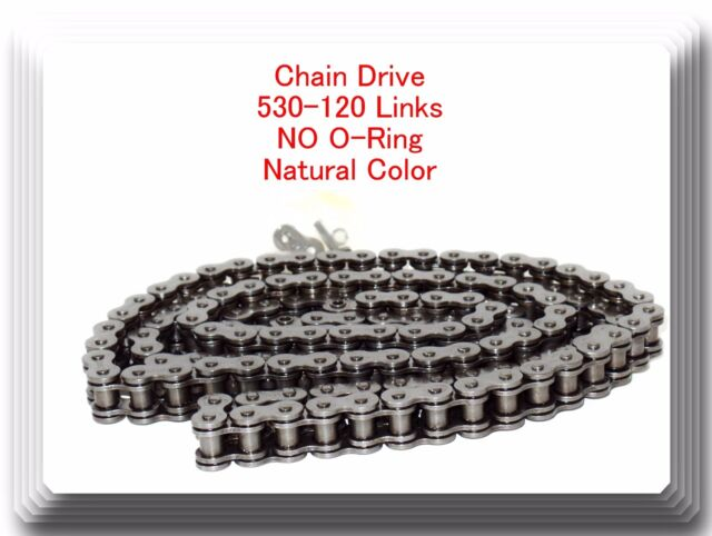 NEW MOTORCYCLE STANDARD CHAIN 530-120 LINK