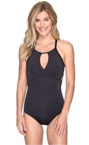 Nike-women-039-s-black-one-piece-swimsuit-XL