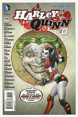 Harley Quinn #0 Unread Near Mint First Print New 52