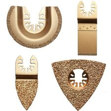 4er Set Hartmetall Dreieck Raspel für Bosch GOP 10,8 V-LI / GOP 14,4 V-EC / B28