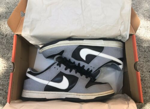 Rare Nike Dunk Low Black/White-Stealth Size US 11.