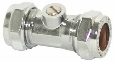 15mm Full Bore Isolation ValveScrewdriver Operated Ballofix Type