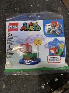 Sealed Lego 30385 Mario Polybag NIP Super Mushroom Surprise Polybag 18pcs 71360