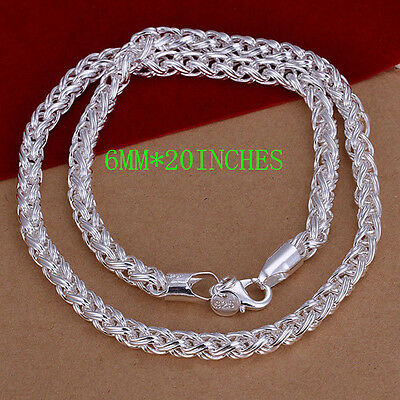 Wholesale Hot Styles 925 Silver Thin Chains Beads Necklace Mens / Womens jewelry