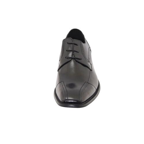 ZTA Men/'s Business Modern Toe Shoes Oxford Leather Dress Shoes Lace-Up Black