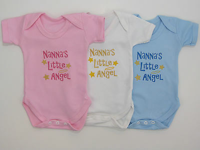 I/'m The Little Cousin Funny Boys Girls Baby  Babygrow Gift 0-18 Months