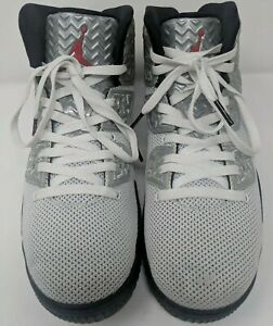 Details about Nike Air Jordan Spike Forty PE Mens Size 10 White Black 807541 101