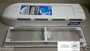 Rv Refrigerator Vent Cover And Base Polar White For