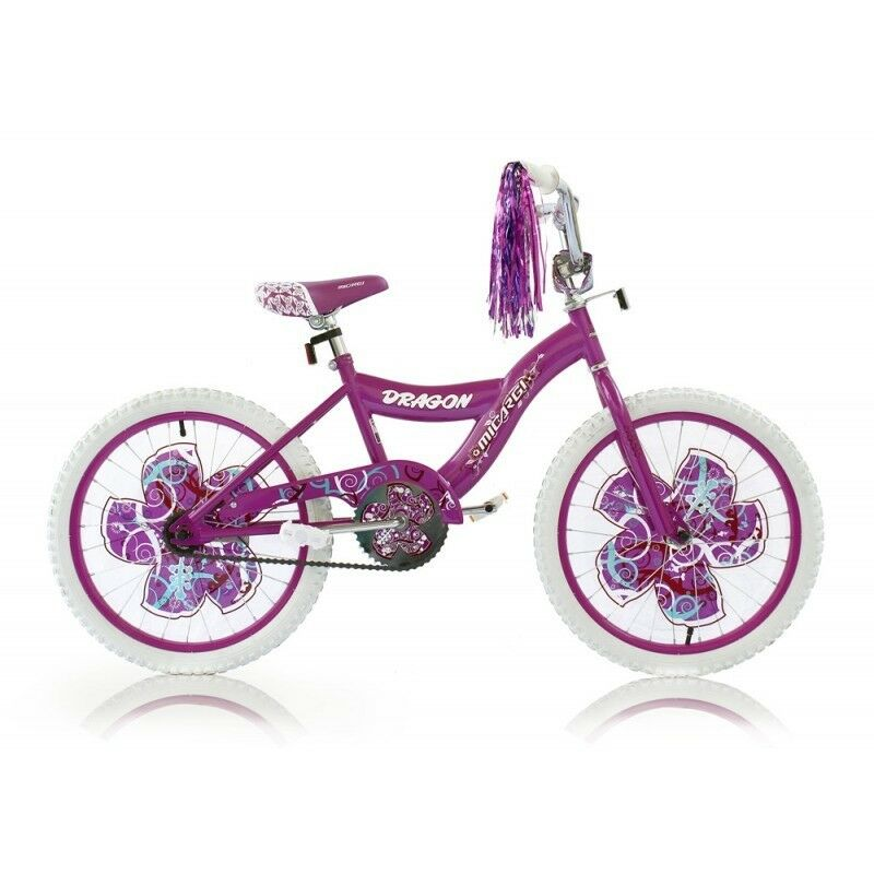 Micargi DRAGON-G-PP 20 in. Girls BMX Bicycle Purple