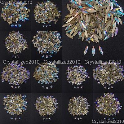 White Opal Top Quality Czech Crystal Rhinestone Nail Art Decoration DIY 1440Pcs