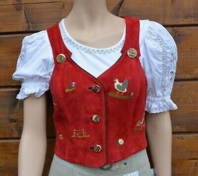 Blue Bavarian dirndl Oktoberfest vest German Trachten vest Size 2XL