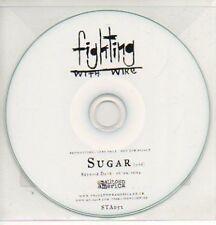 (757K) Fighting With Wire, Sugar - DJ CD