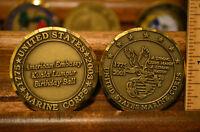 Usmc Kuala Lumpur Birthday Ball American Embassy Challenge Coin