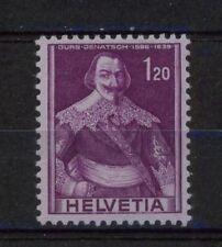 Switzerland 1941-59 SG#411a 1f20 Purple/Reddish Lilac MH