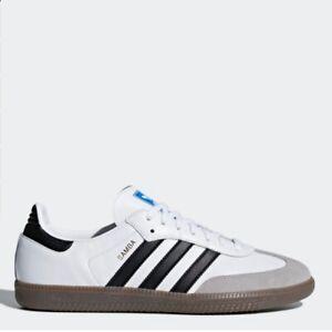 escribir contacto tarde  Adidas Original Samba White Men's All Size Authentic - B75806 Expedited  Shipping   eBay