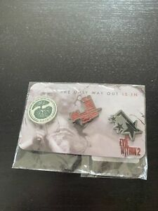 pin's The Evil Within Rare