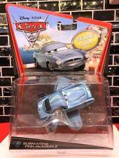 CARS 2 - FINN McMISSILE SUBMARINE Deluxe - Mattel Disney Pixar