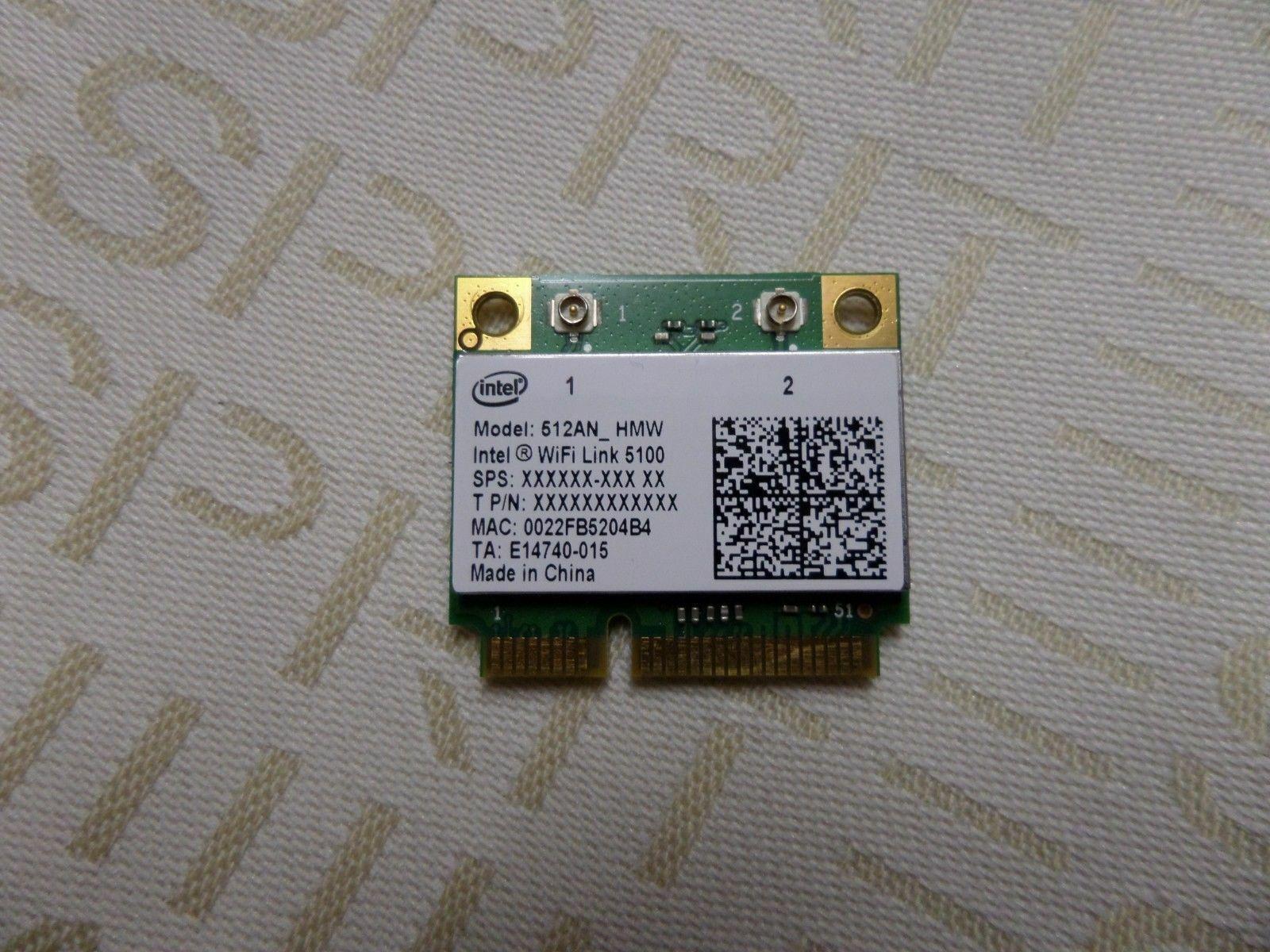Intel 512AN_HMW Mini PCI