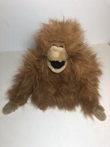 Orangutan Plush Monkey Stuffed Animal A A 1992 Velcro Hands Ebay