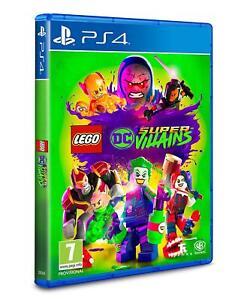 LEGO-DC-cattivi-PS4-Gioco-Super-NUOVO