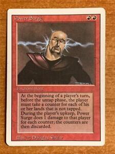 English Drain Power x1 MTG Magic Revised Edition Heavily Played