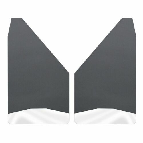 """Husky Liners Universal Mud Flaps 12/"""" Wide Stainless Steel Weight 17150"""