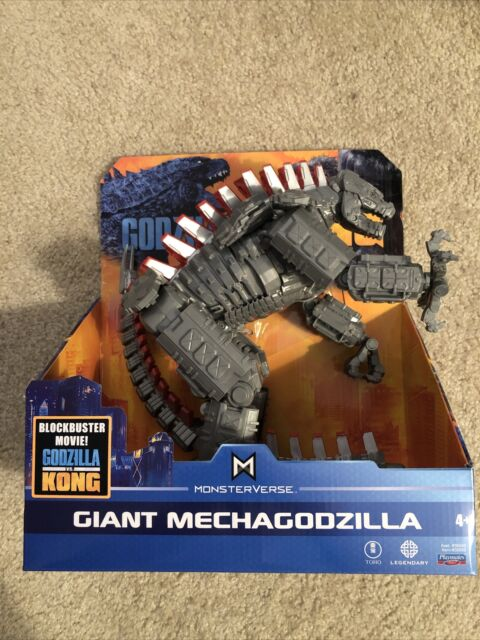"New Playmates Godzilla vs Kong GIANT MECHAGODZILLA Monsterverse 11"" Figure RARE"