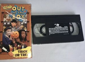 Playhouse Disney Out Of The Box Trick Or Treat Vhs Video Tape Rare
