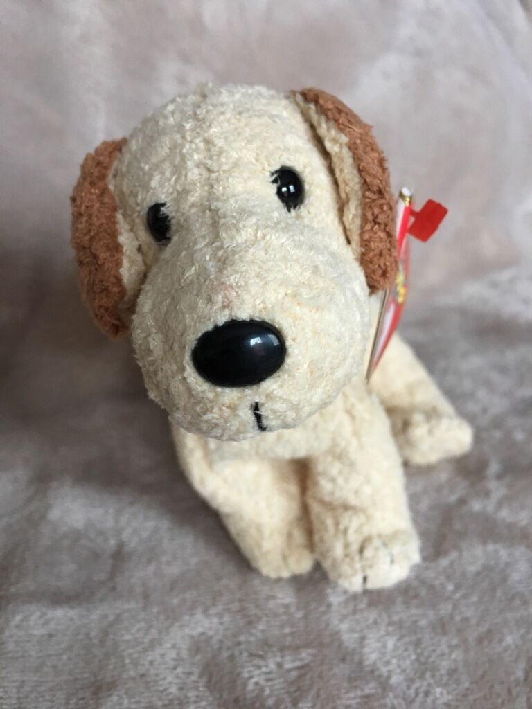 Original Ty Beanie Baby Rufus the dog - Rarität - NEW - MWMT neu