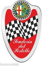 Motorsport Decals Classic Cars Alfra Romeo Milano Italian Car Stickers