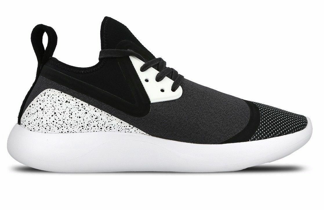 NEW NIKE LUNARCHARGE PREMIUM LE 923284-999 Black White Men's 6 (Women's 7.5) LTD
