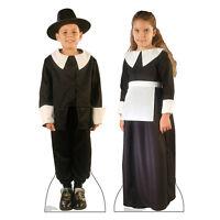 Pilgrim Boy & Girl Thanksgiving Lifesize Cardboard Cutout Standup Standee Poster