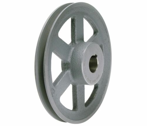 """6.45/"""" X 3//4/"""" Single Groove Fixed Bore /""""A/"""" Pulley # AK66X3//4"""