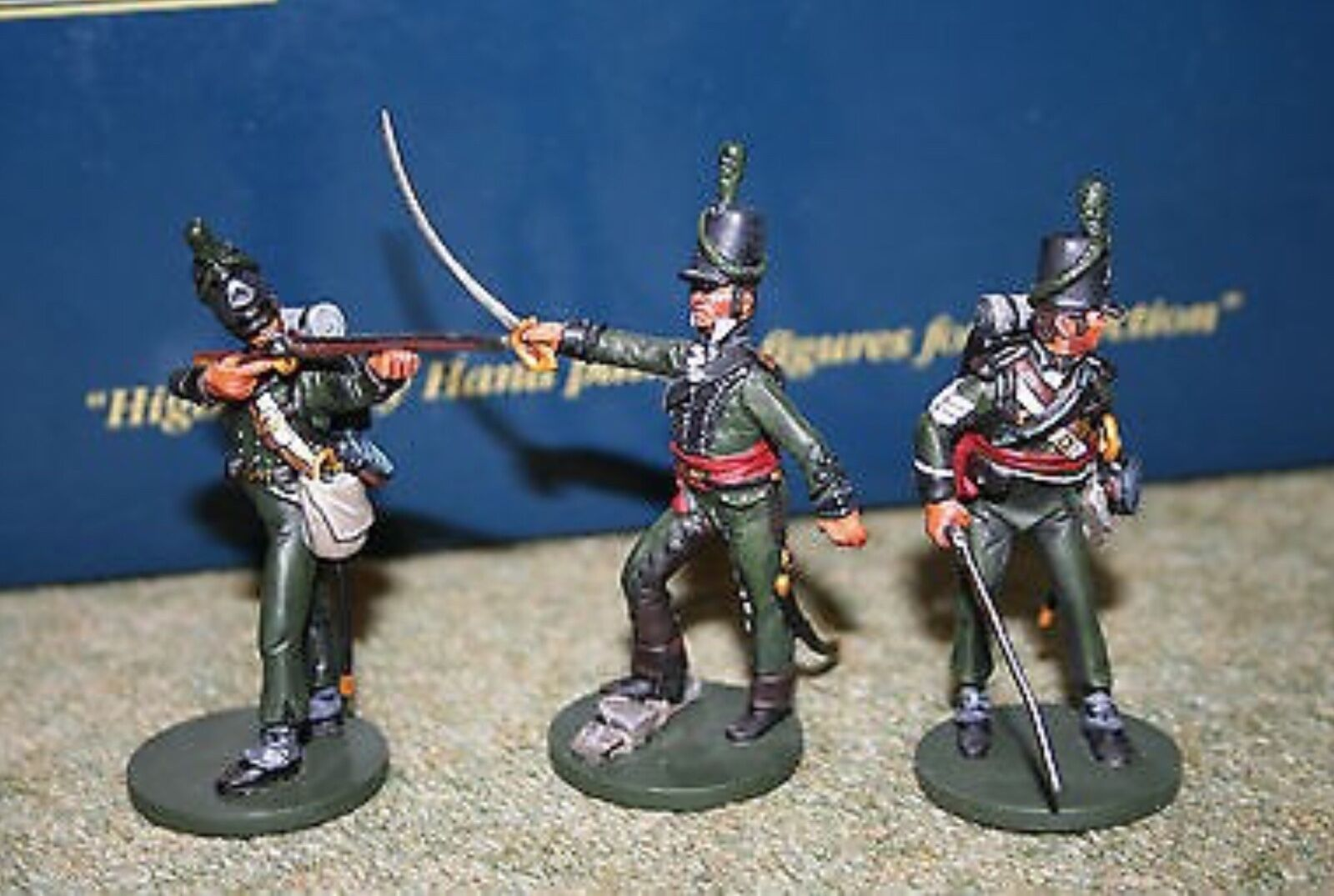 Oryon ART 6023 British Light Infantry  95th Regt. Rifles  1811