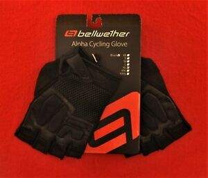 NEW-Bellwether-Alpha-Cycling-Glove-305-Black-X-Large