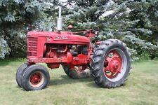1948 International Farmall M Gas 36hp 4cyl 41l 6v 5 Speed 2wd