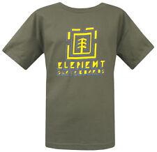 J5 - Element Skate Tee / T-Shirt / Shirt * NWT Boys Youth Medium Army - #25940