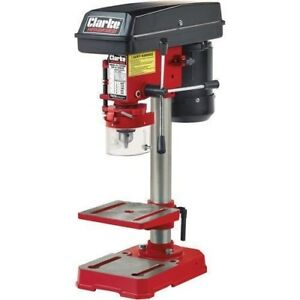 1 Year Warranty Clarke 5 Speed Bench Drill Press Rotary Action Table Stand Elektrowerkzeuge