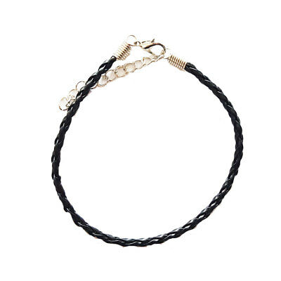 Braided Black Leather Anklet,rockabilly,bohemian,ankle Bracelet,summer,holiday Fashion Jewelry