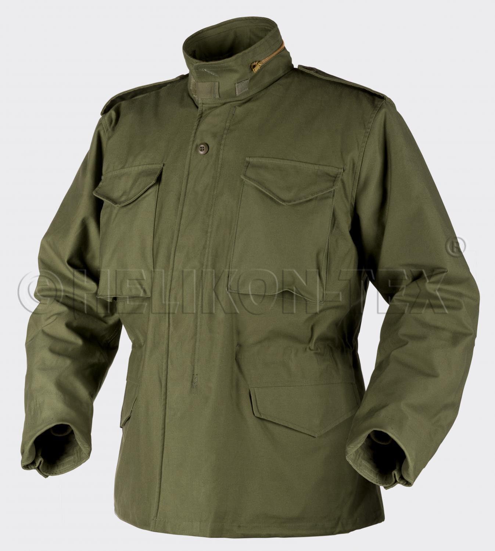 Helikon TEX US m65 Giacca Army Field Jacket Jacket Jacket verde Oliva con Thermofutter XLARGE Regular 31eeb1