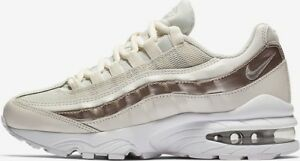 great fit how to buy cute cheap Details about Nike Air Max '95 LE Phantom/Metallic Red Bronze-White Size 7y  Boys 310830 015
