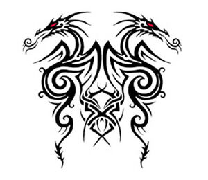 Tattoo Style Tribal design iron on transfer
