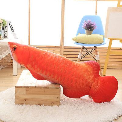 Soft Fish Tuna Doll Simulation Carp Cushion Plush Stuffed Throw Pillow Xmas Toys