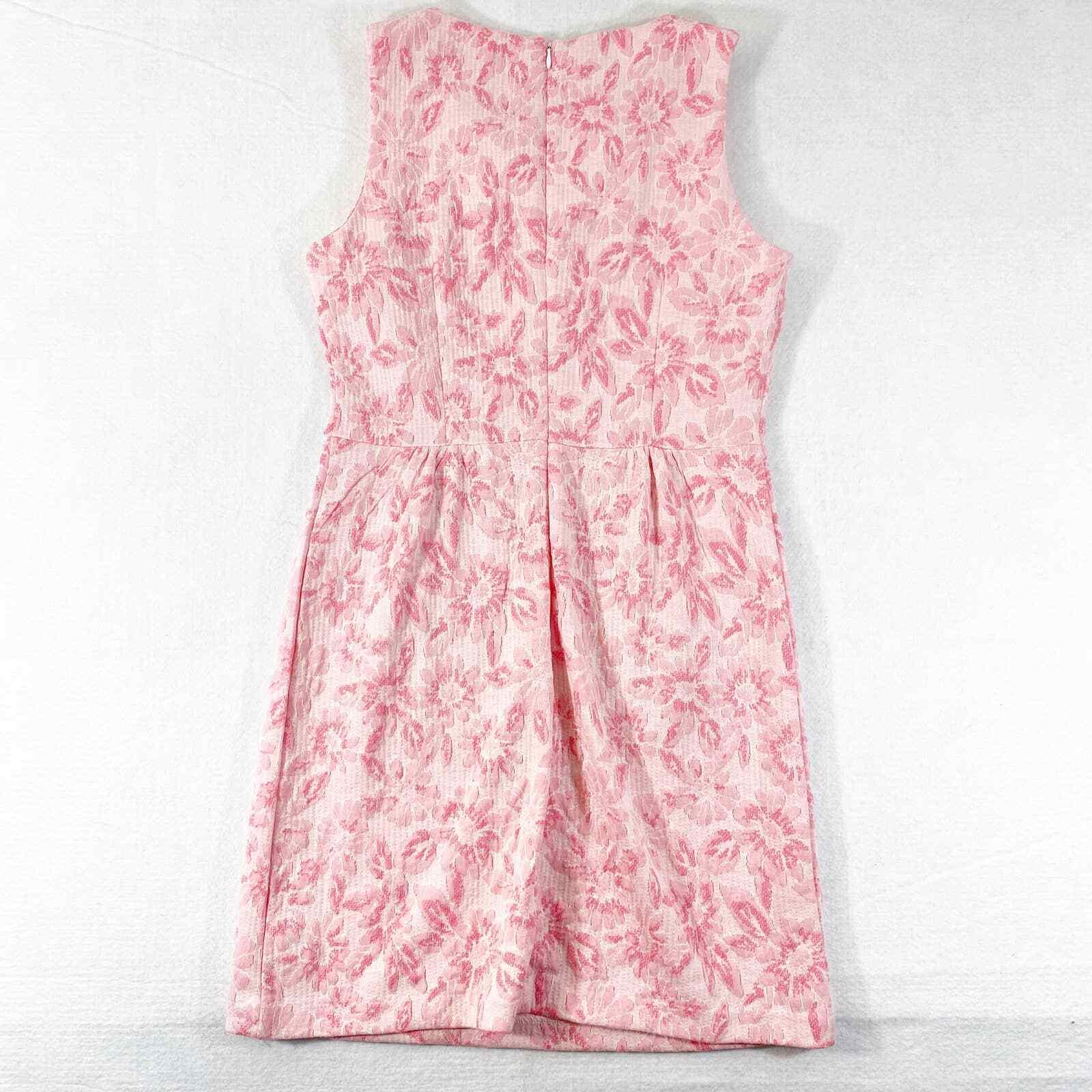Tyler Boe Dress Small Womens Mini Pink Floral Kni… - image 2