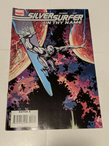 Silver Surfer In Thy Name #3 March 2008 Marvel Comics Limited Series