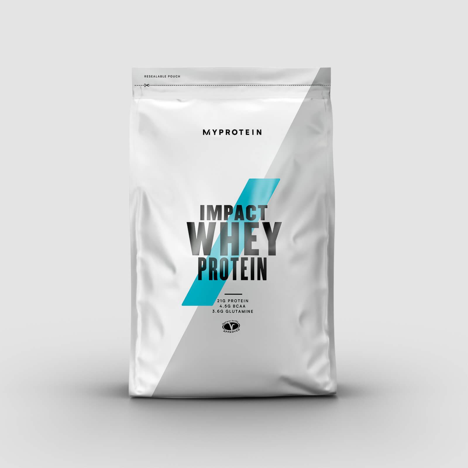 Impact Whey Protein - Eiweiß Aminosäure Glutamin Diät BCAA  Milch - MyProtein