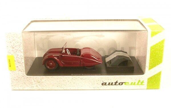 Rapid Compact Car (Dark Red) Switzerland, 1946