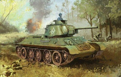 """Dragon 6603 1//35 T-34//76 Mod.1943 /""""Formochka/"""" w//Commander/'s Cupola"""